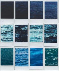 Blue sea diffrent color blues 3>