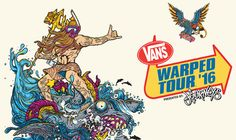 2016 Vans Warped Tour lineup announced with old school bands, comes to Scranton…
