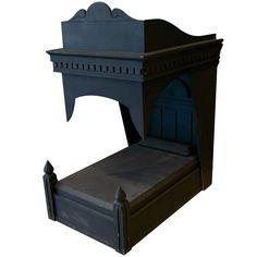 Folk Art Gothic Dog Bed
