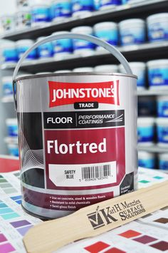 Johnstone's Trade Floor Flortred
