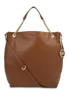 c384a045c9e9 Michael Kors Jet Set tan grained leather tote on shopstyle.co.uk Michael  Kors