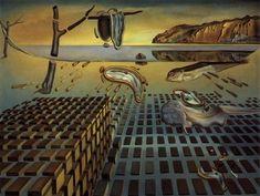 La désintégration de la persistance de la mémoire, par Salvador Dali