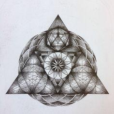Dotwork geometry