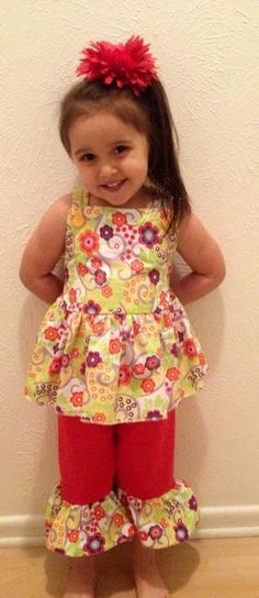 spring outfit. Available at Munchkin Mall Consignment and Custom Order Boutique (facebook page)