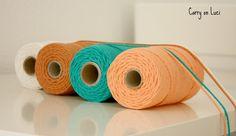 Carry on Luci: DIY: Alfombra hexágonos cuerda o trapillo I