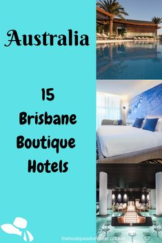 Looking for the most stylish and fantastic Brisbane Boutique Hotels? Here are 15 great finds across the CBD, Fortitude Valley and Spring Hill. Plus where to go and what to do in Brisbane Brisbane, Sydney, Australia Travel Guide, Visit Australia, Australia Holidays, Hotels And Resorts, Best Hotels, Amazing Destinations, Travel Destinations