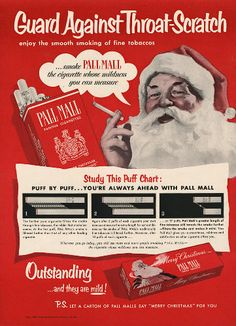 even santa loves pall mall