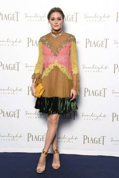 Olivia Palermo attends Piaget Sunlight Journey Collection Launch on June 13, 2017 in Rome, Italy.