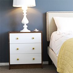 Give your Rast three drawer chest a personal touch. Check out the how-to.
