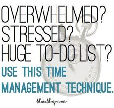 Work With Time & Get More Done With The Pomodoro Technique -- this technique has changed my life! seriously, if you're overworked and overwhelmed, you have to try it! time management work from home time management