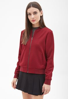 Quilted Bomber Jacket - Jackets & Coats - 2000058308 - Forever 21 UK