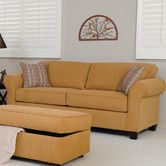 Found it at Wayfair - Sleeper Sofa.... removable seat and back cushions.... $680 .... free ship