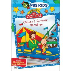 The Best of Caillou: Caillou's Summer Vacation (dvd_video)