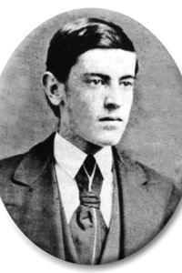 Woodrow Wilson at age 15 in 1871