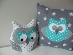 Creative Make A Pillow Or Cushion Ideas. Awe-Inspiring Make A Pillow Or Cushion Ideas. Quilt Baby, Owl Pillow, Baby Nursery Themes, Crochet Hook Set, Baby Room Design, Sewing Pillows, How To Make Pillows, Kids Pillows, Baby Owls