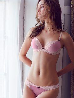 Lace-Trim Thong Panty - Dream Angels - Victoria's Secret