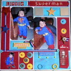 little superman - Scrapbook.com