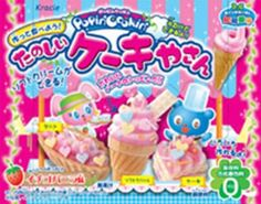 Other Candy, Gum & Chocolate Gourmet Recipes, Snack Recipes, Asian Recipes, Cooking Kits For Kids, Japanese Snacks, Japanese Candy, Japanese Food, Ice Cream Mix, Baby Doll Accessories