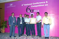 The 6 Sigma Team from TAFE Doddaballapur Plant, Bangalore, participated in the 6th National Conference and Competition on 6-Sigma, organized by the CII Institute of Quality, and won the first runner-up award.    Well done Team DBR! You made us proud, yet again!  tafe.com | tafecafe.org