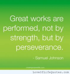 inspiring quotes about perserverance - Google Search