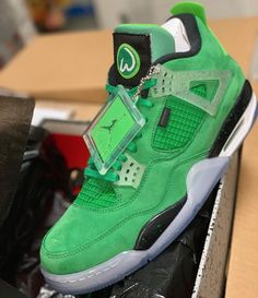 61f0c6ca402 Mark Wahlberg x Air Jordan 4 Custom Jordans