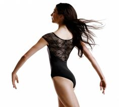 Bloch Chiwa Button Back Lace Dance Leotard L6042 Button back cap sleeve lace  leotard. Fabric da8cd63be