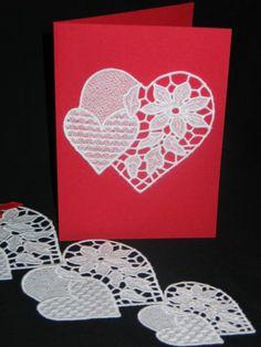 Advanced Embroidery Designs - FSL Valentine Heart
