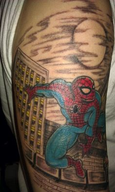 Amazing Spider-Man tattoo! Tattoos For Guys, Cool Tattoos, Spiderman Tattoo, Amazing Spider, Projects To Try, Tattoos For Men, Coolest Tattoo, Nice Tattoos