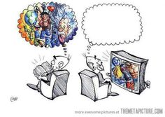 Books vs. Television. No thought about it....books win!