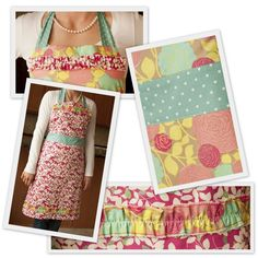 Fair trade Mattie May reversible aprons from Scarlet Threads empower women in rural regions of the world.
