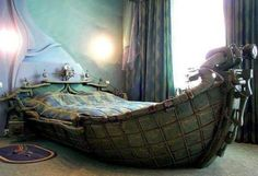 Awesome Boat Bed