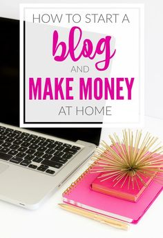 How to start a blog and make money at home! These are the tips I used to grow my blog!