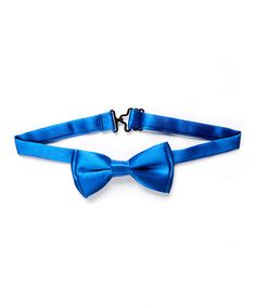 Look what I found on #zulily! Blue Satin Bow Tie #zulilyfinds