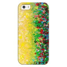 iPhone 6 Plus/6/5/5s/5c Bezel Case - NATURE'S LIVING ROOM - Rainbow... ($35) ❤ liked on Polyvore featuring accessories, tech accessories, iphone case, iphone cover case, apple iphone cases, flower iphone case and rainbow iphone case