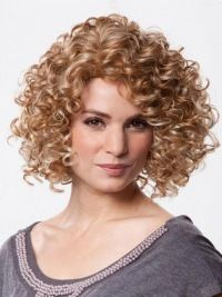 SKU:HW03463; Material:Synthetic; Cap Construction:100% Hand-tied; Cap Construction:100% Hand-tied; Length:Chin Length; Hair Style:Curly;