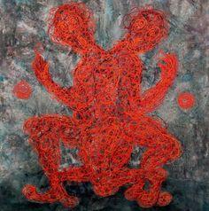 Artist : Manuel Miguel, Title : De la serie tejidos internos. Para mayor información: https://www.facebook.com/pg/MADartmx/photos/?tab=album&album_id=995476873796067