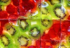Ovocno-pudingové rezy