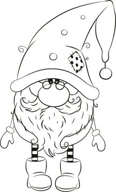 Michael winter Gnome Michael winter Gnome The Effective Pictures We Offer You About applique vintage A quality picture can tell you many things. Colouring Pages, Coloring Sheets, Coloring Books, Silver Christmas Decorations, Christmas Colors, Christmas Drawing, Christmas Paintings, Christmas Gnome, Christmas Crafts