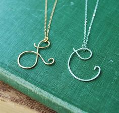 Initial Necklaces!  Perfect gifts for sisters/girlfriends.  $29.99 at www.brickyardbuffalo.com