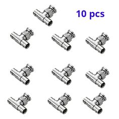 Coaxial T-Adapter Coupler. BNC 1 x Male 2 x Female T Adapter brand new and high quality product. Great for short distance connection. Simply & Professional appearance for cabling. Easier for CCTV camera installation, save time and money. Cctv Camera Installation, Distance, Connection, Money, Female, Accessories, Silver, Long Distance, Jewelry Accessories