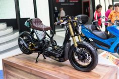 Honda Scooter Cafe Racer Zoomer #motorcycles #caferacer #motos | caferacerpasion.com