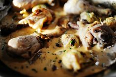 Chicken with Mushrooms and Artichokes - Ree Drummond *The Pioneer Woman*  YUMMY!
