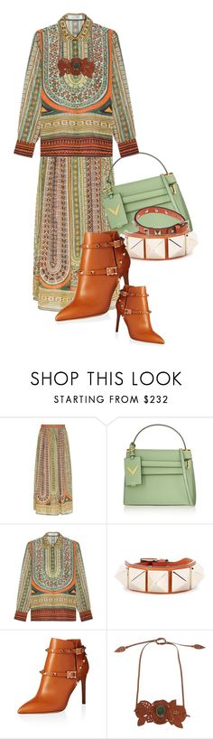 """""""Valentino Head-To-Toe (3)"""" by queenrachietemplateaddict ❤ liked on Polyvore featuring Valentino"""