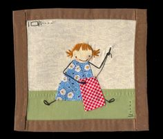 Learning to sewLittle Mini Quilt  by shelece on Etsy