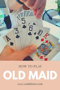 Old Maid is an easy card game for 2 or more players. Draw cards from your opponent's hand to make pairs, but don't get caught with the last queen or you're the Old Maid! One Player Card Games, Classic Card Games, Playing Card Games, Games To Play, Maid, Old Things, Draw, Queen, To Draw