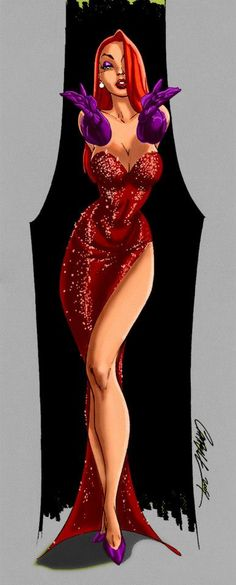 Jessica Rabbit by J. Scott Campbell