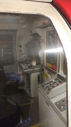1973 Piccadilly line stock drivers cab London Underground Tube