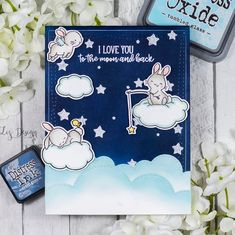 Stampin with Liz Design: Wish Upon A Star Card! Mama Elephant stamp set Wish Upon A Star Kids Cards, Baby Cards, Mama Elephant Stamps, Elephant Design, Distress Ink, Cool Cards, Creative Cards, Cute Images, I Card
