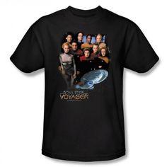 Star+Trek+Voyager+Crew+T-Shirt