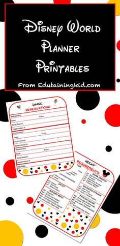 Printable Ticket To Disneyworld Disneyland Customizable